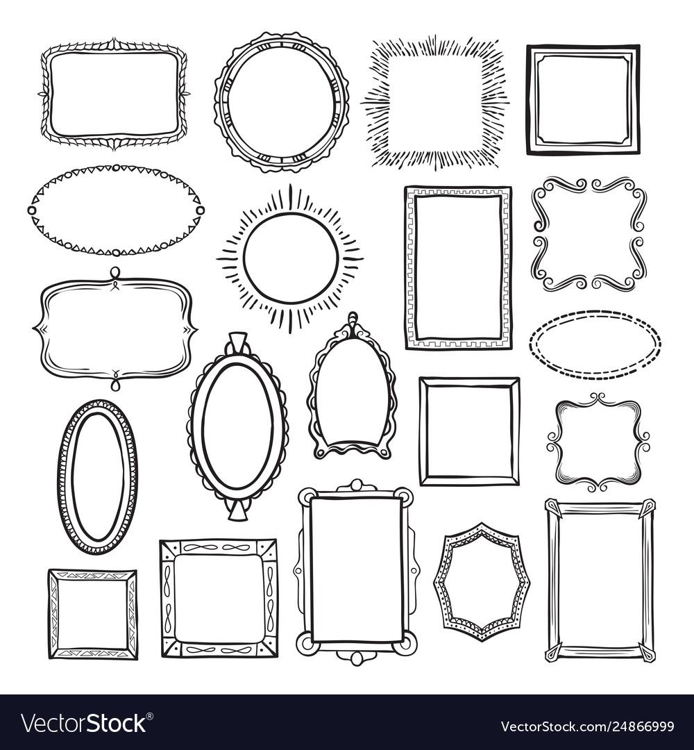 Picture frame sketch set photograph album decor