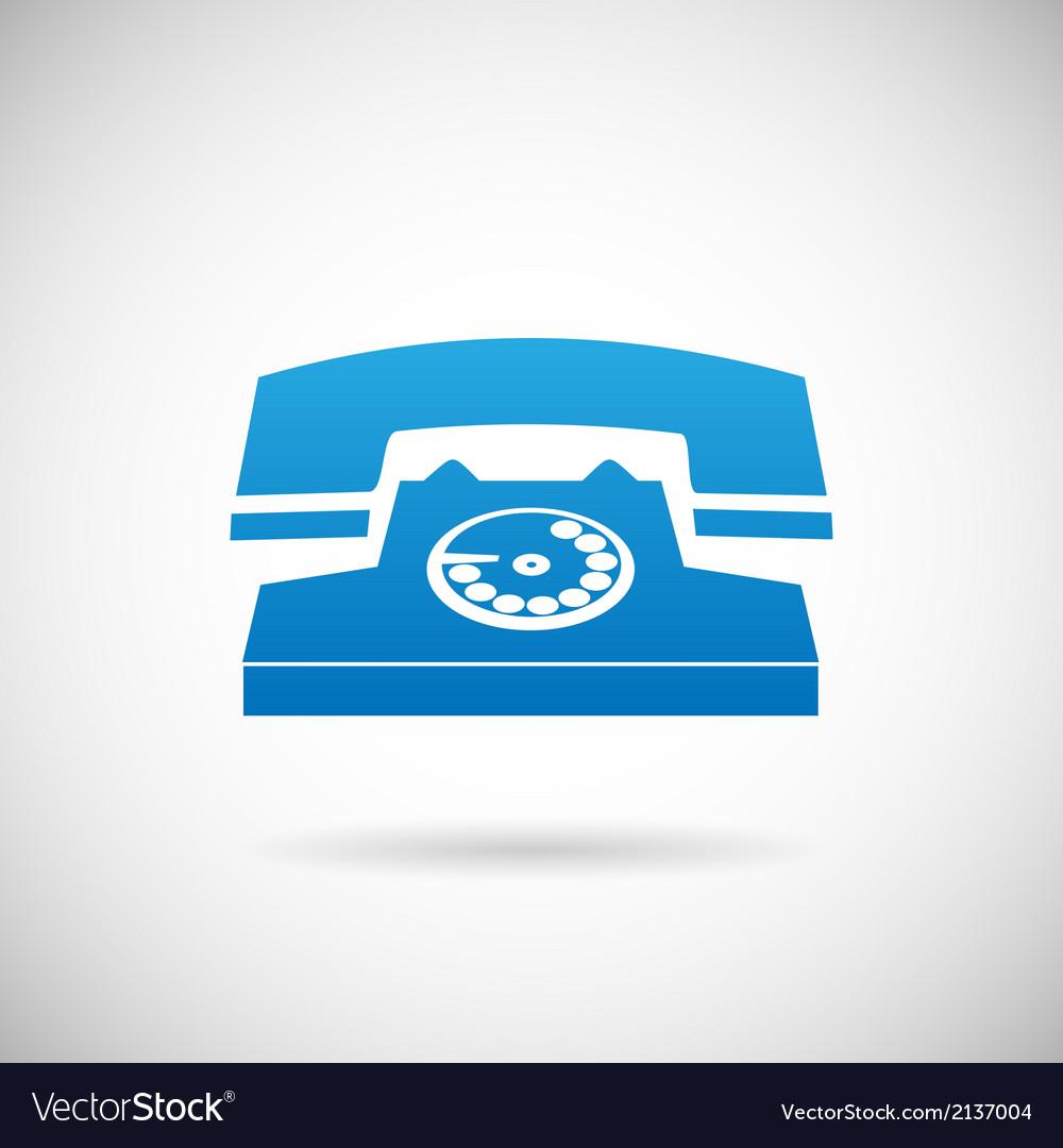 Call Symbol Phone Icon Design Template vector image