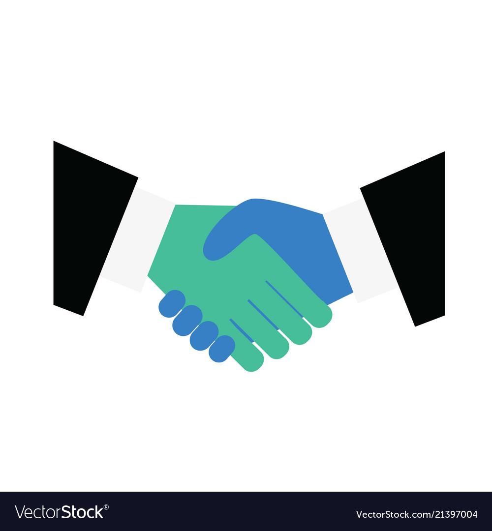 Handshake icon symbolizing an agreement signing a