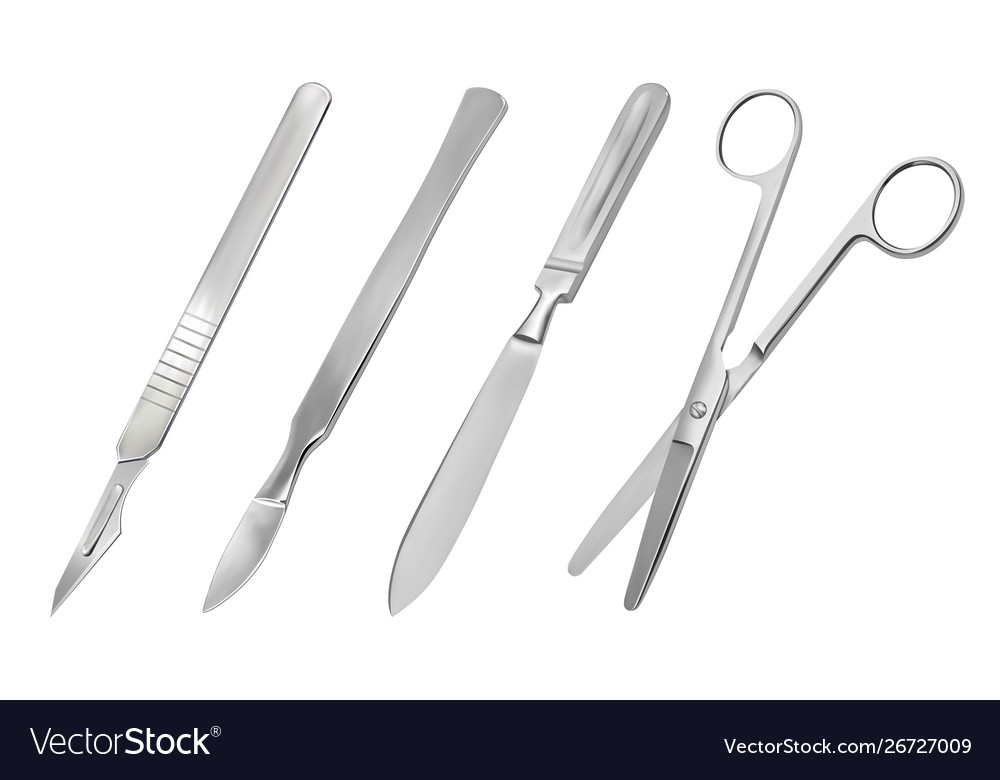 A set surgical cutting tools reusable all