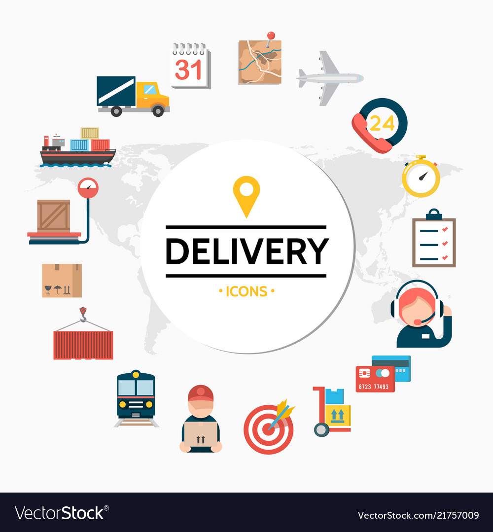 Flat delivery round concept