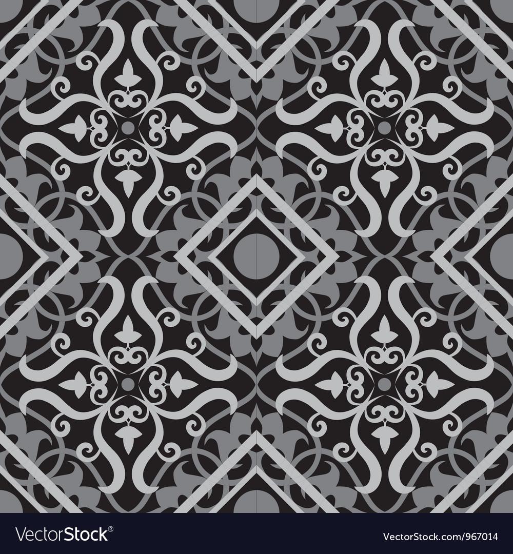Keltic pattern black vector image