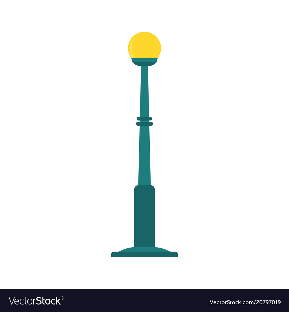 graphic isometric collection street lamp lamppost post image vector of