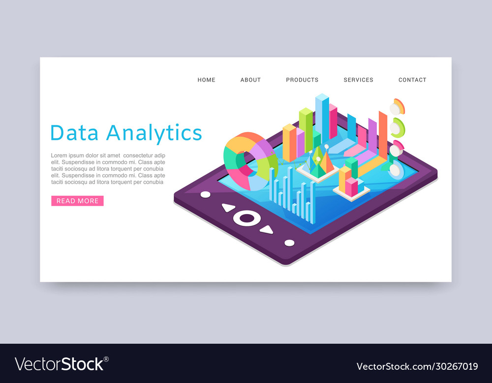 Data analitycs charts and research information