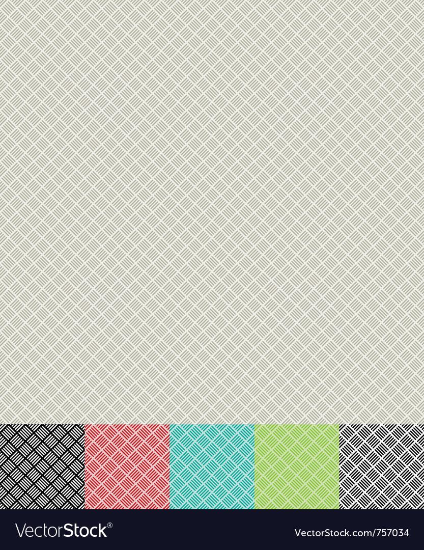 Cross hatch pattern vector image