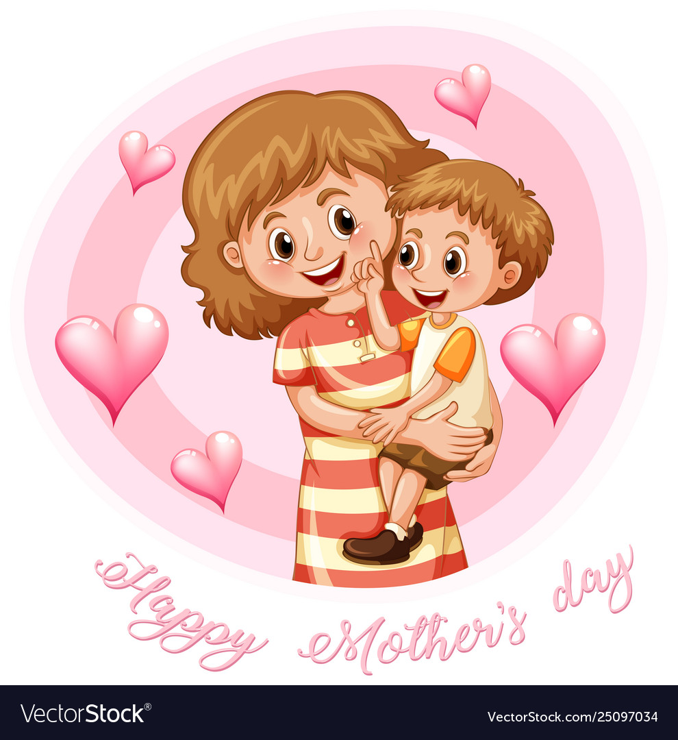 Happy mothers day template