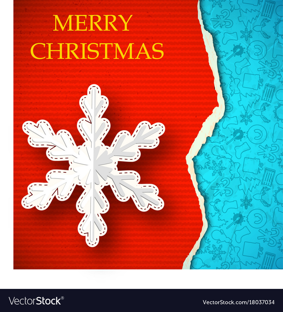 Merry christmas poster template Royalty Free Vector Image