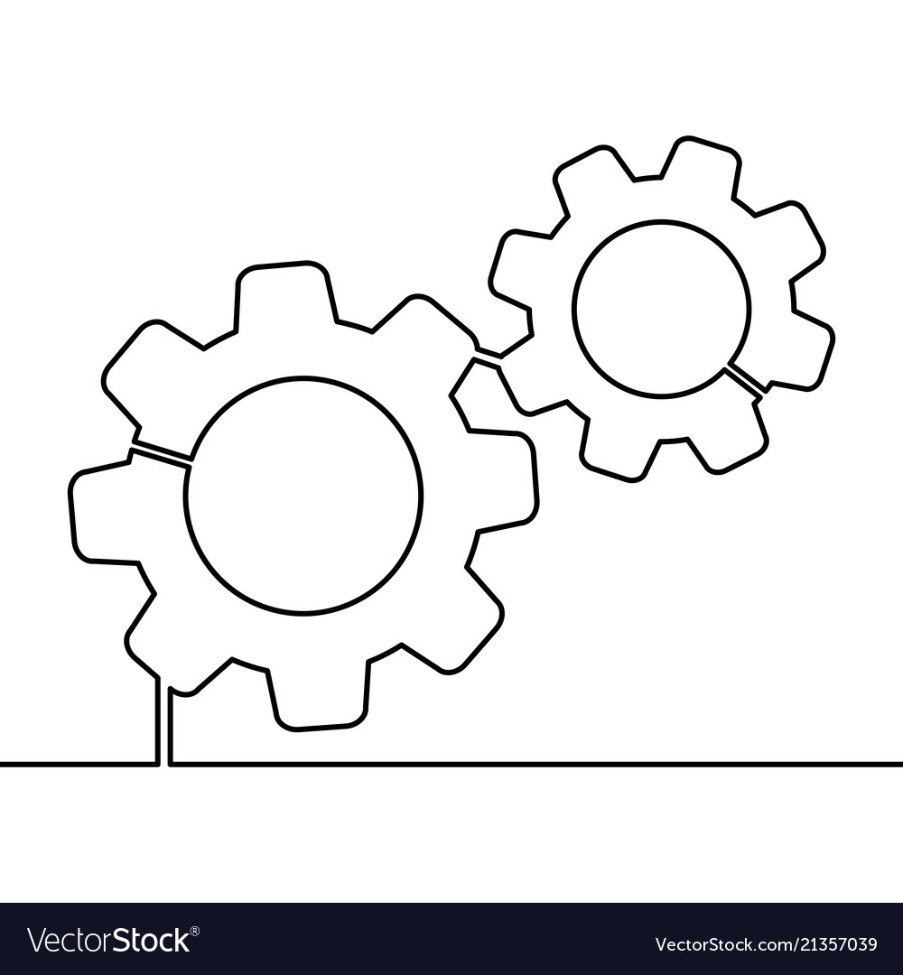 Continuous line gears