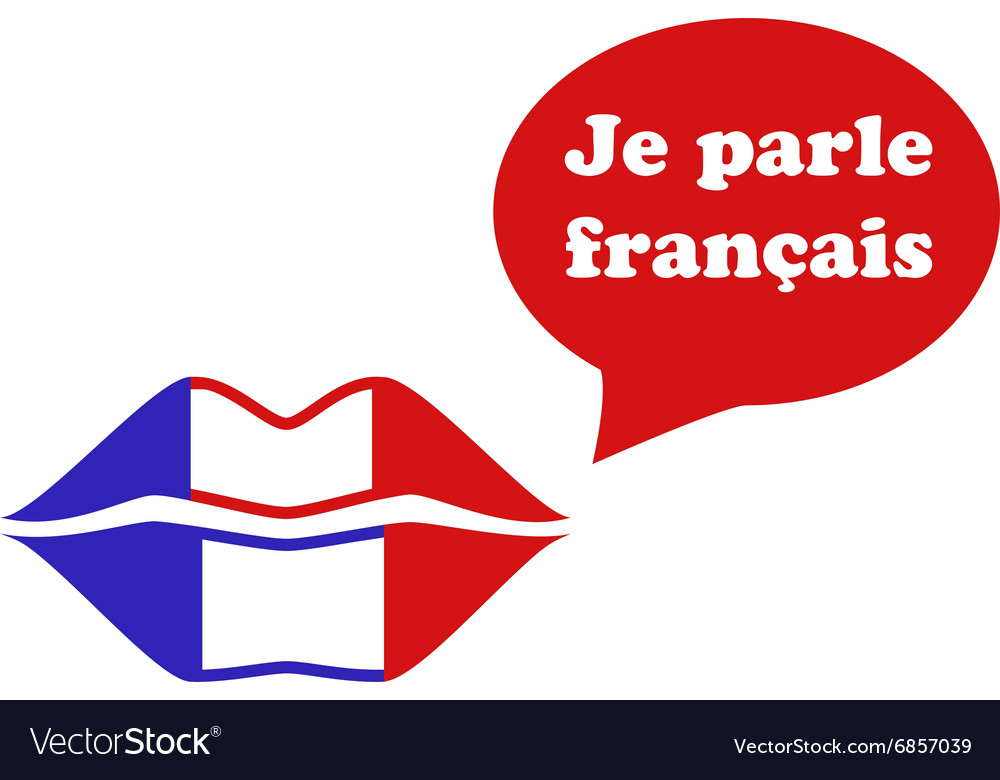 French Flag Lips