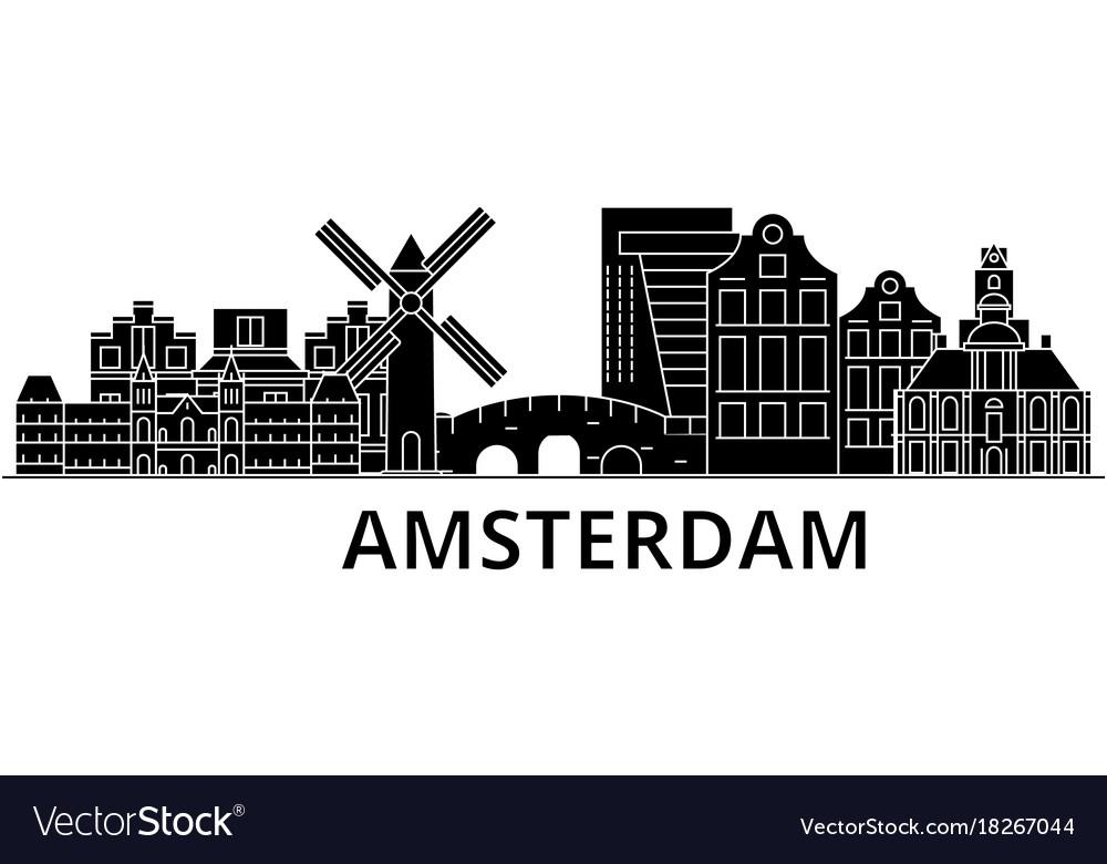 Amsterdam architecture city skyline travel