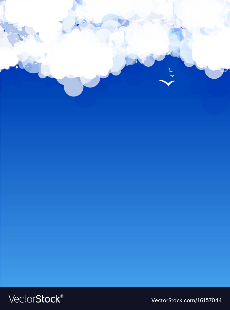 Cloud theme background