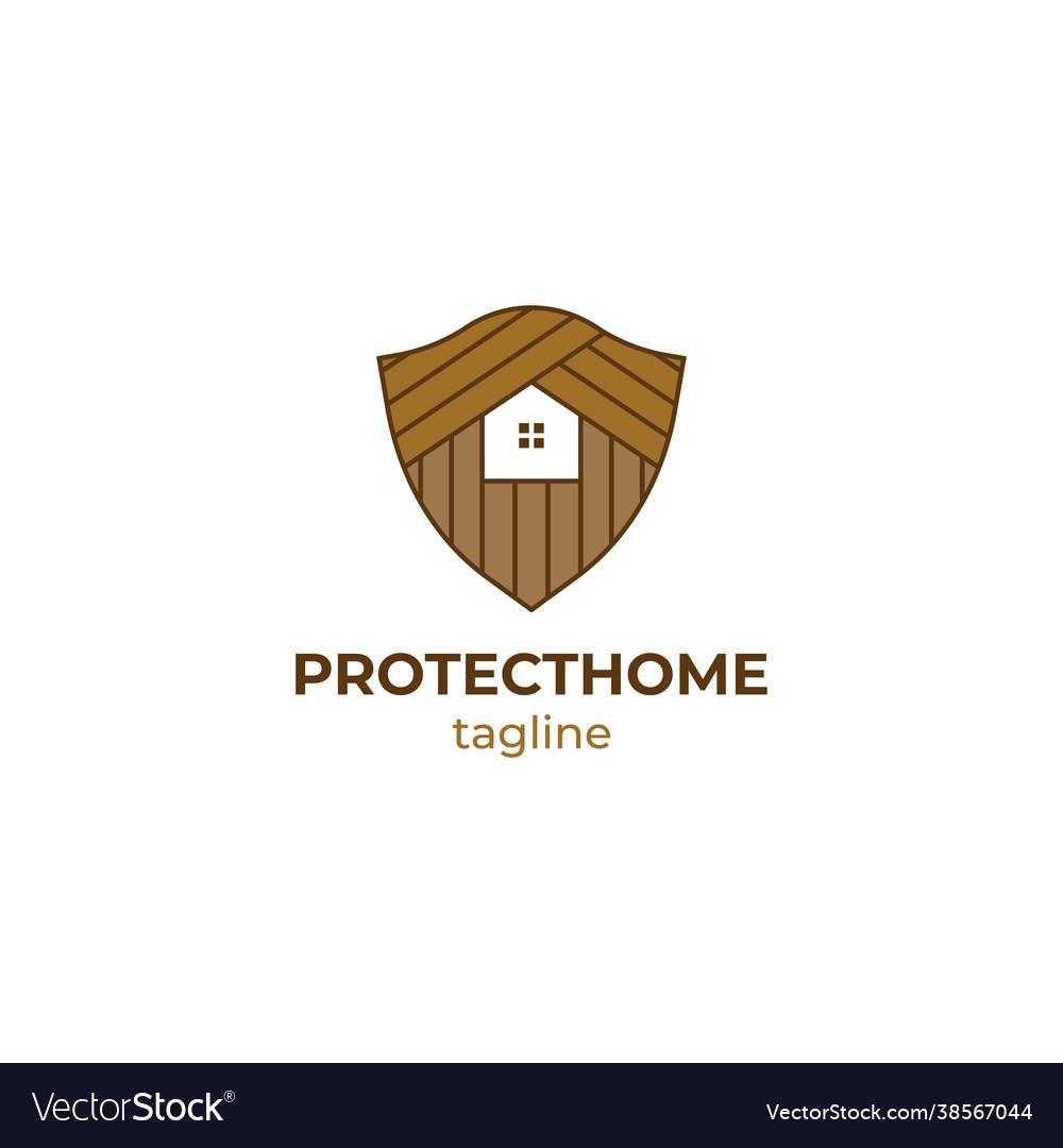 Home security logo design