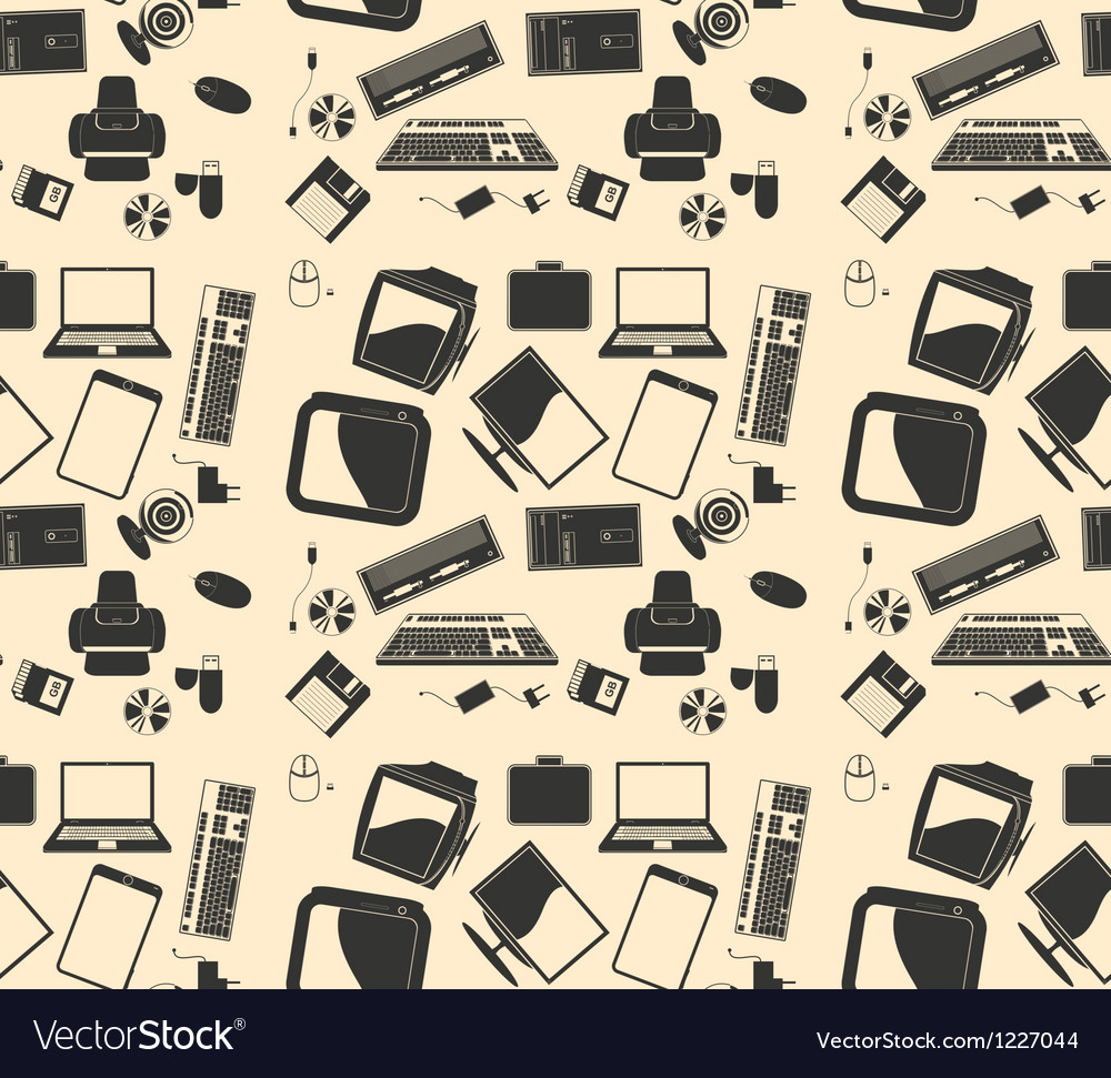 Retro computer background pattern