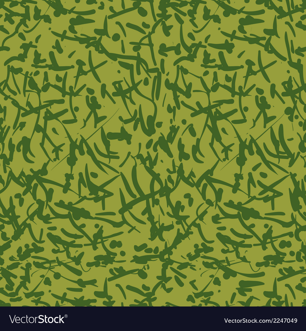 Camouflage 1 vector image