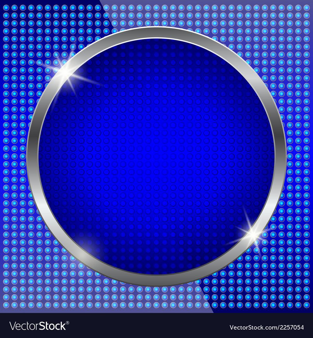 Blue fluorescent background