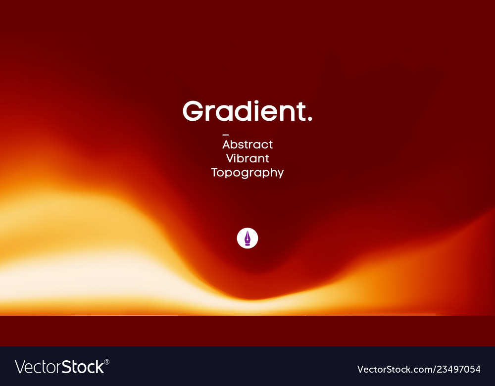Fluid gradient background design futuristic