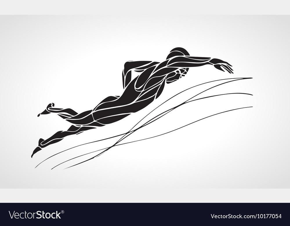 slimming siluete vector
