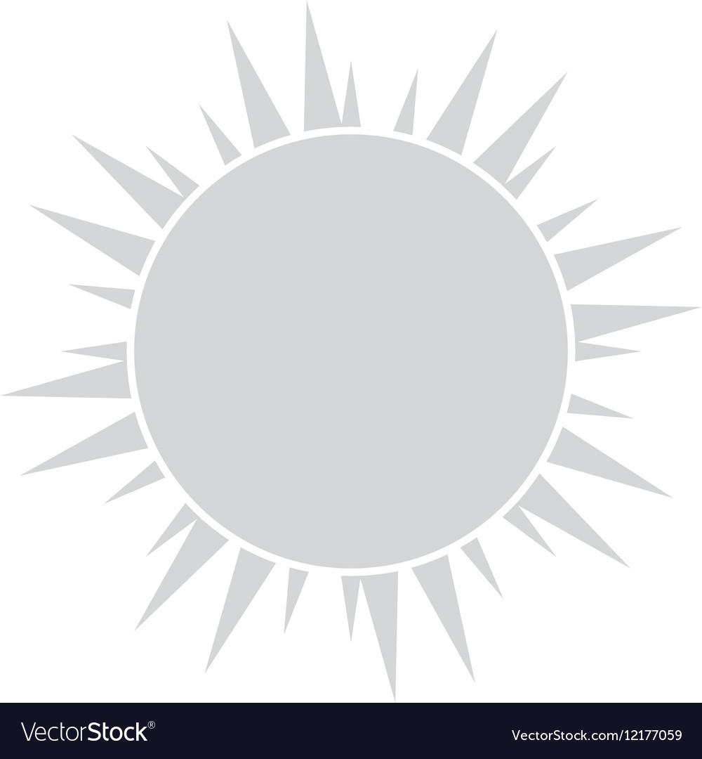Sun representation icon image