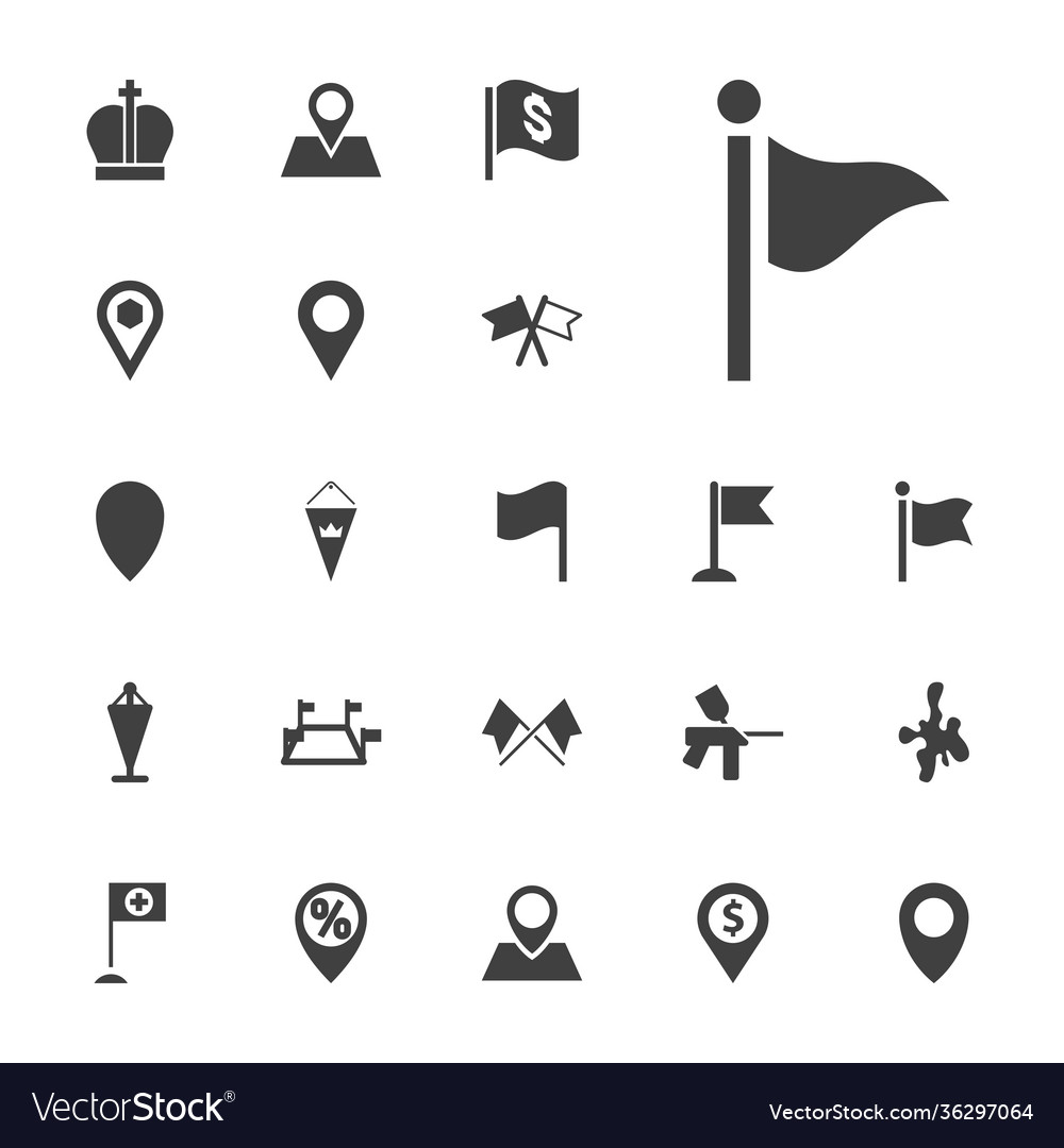 Marker icons