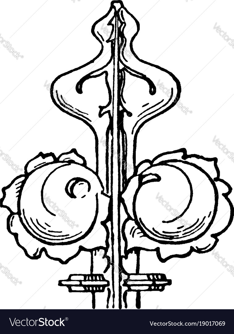 Finial is an ornament generally carved resemble