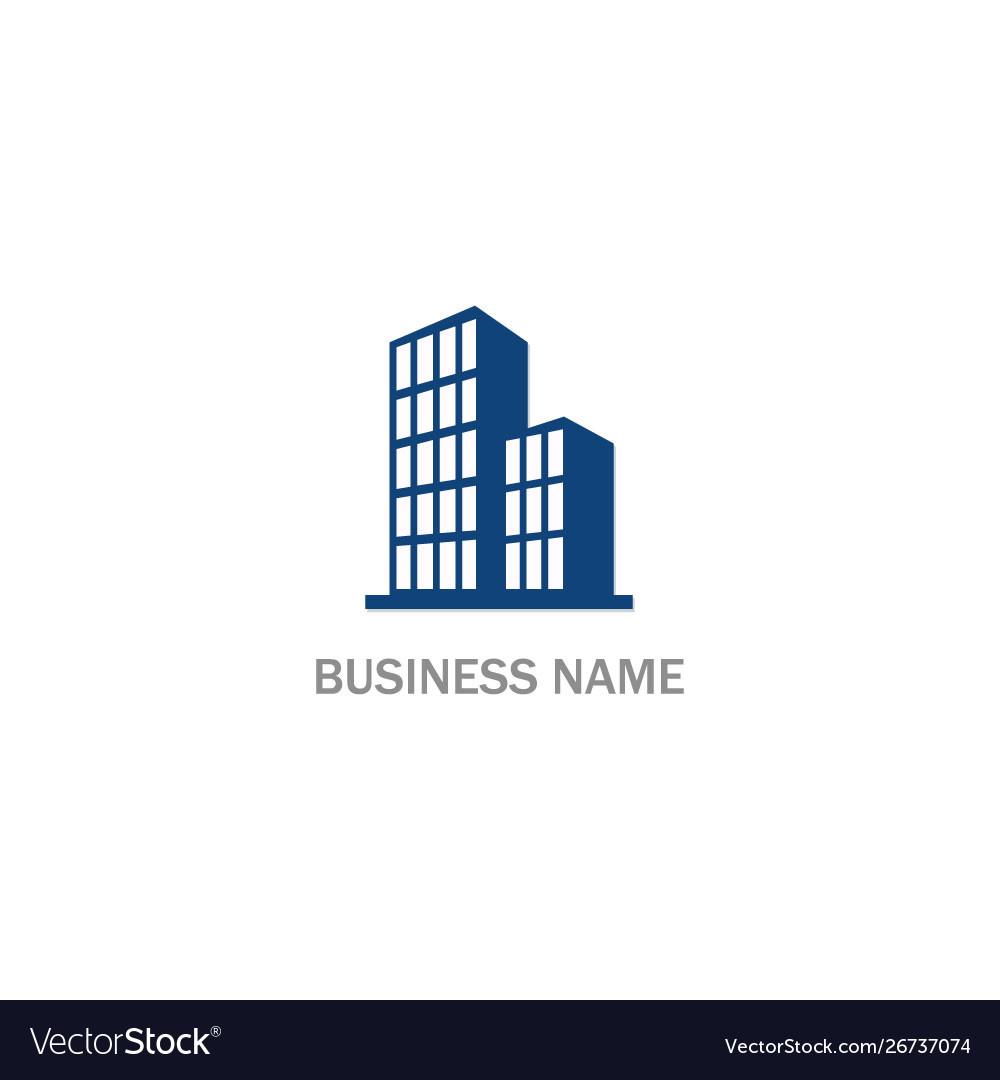 Cityscape building abstract company logo