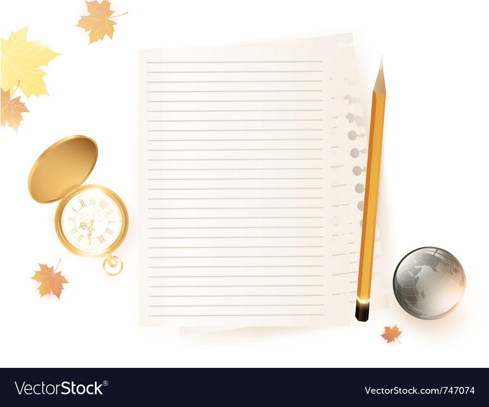Education theme vector image