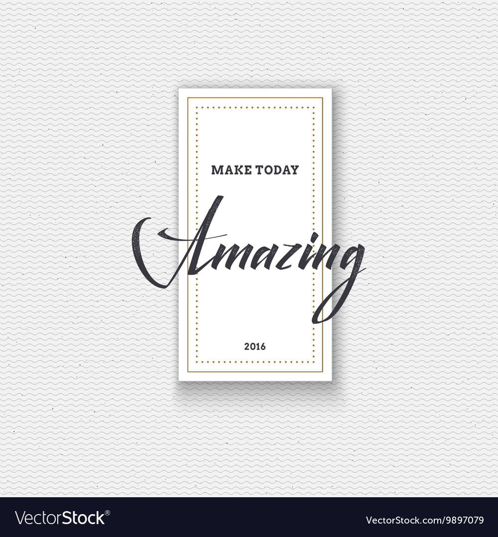 Amazing Cards labels stickers hand lettering