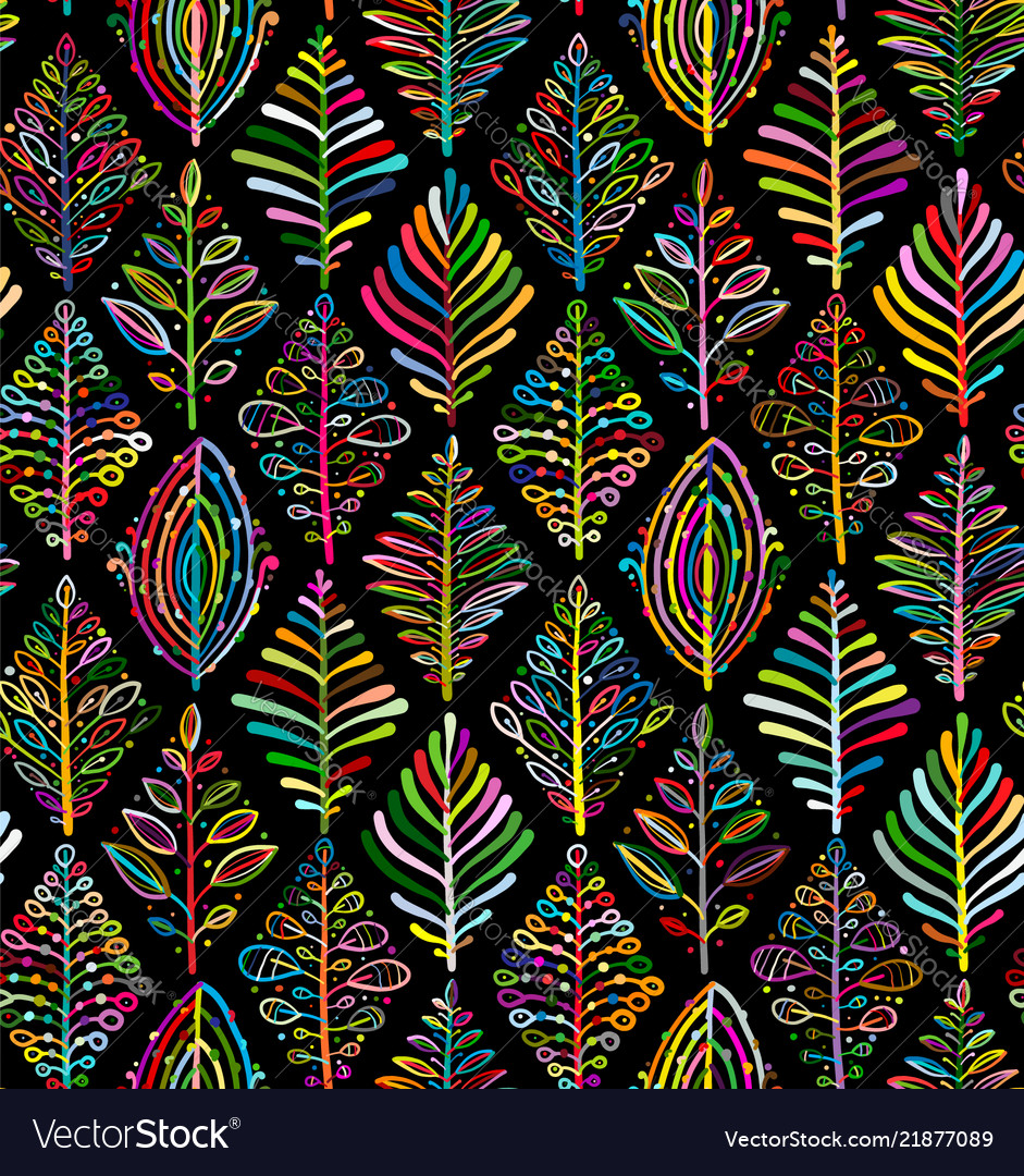 Abstract leaves background rhombus shape