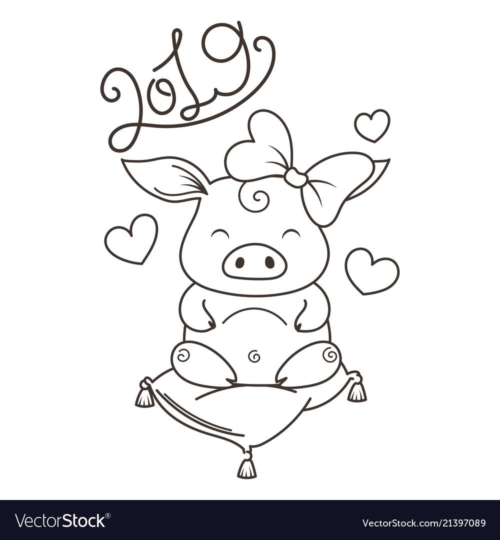 Картинки карандашом с новым годом 2019 год свиньи прикольные, поздравление бракосочитанием картинки