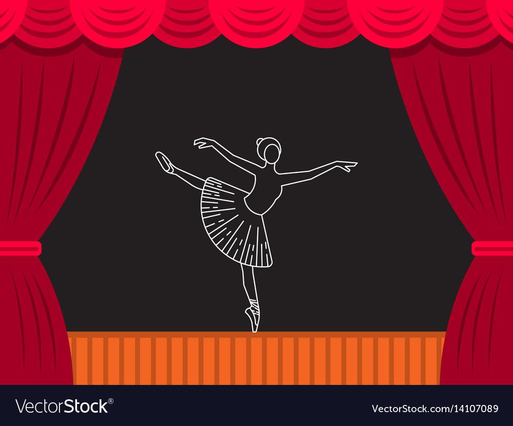 Theatre ballet banner