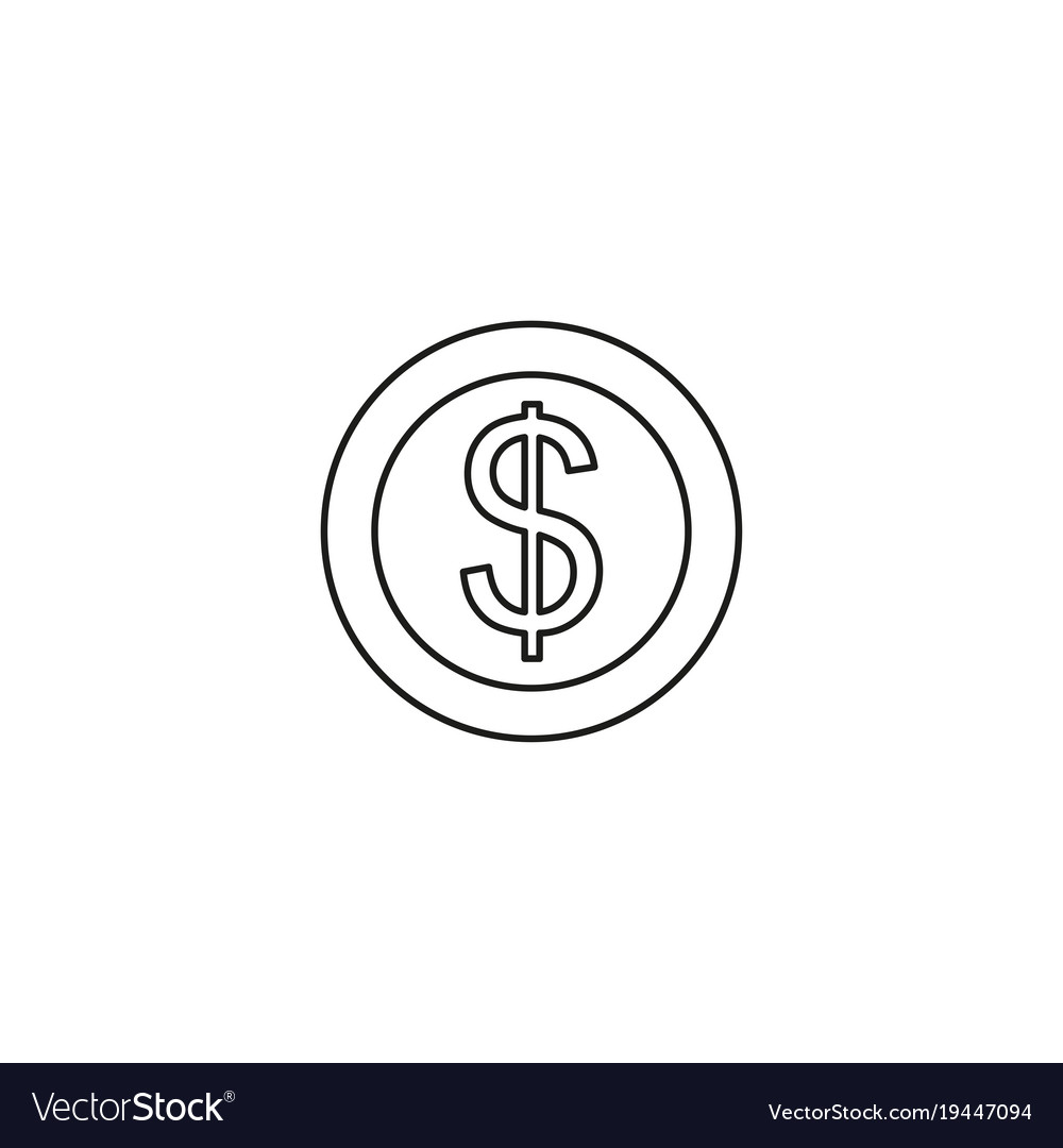 Currency signs money exchange pound coins mono