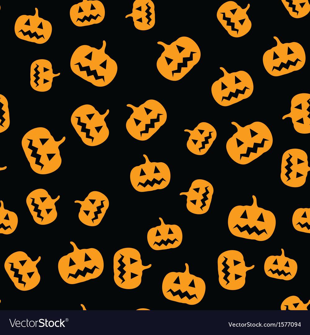 seamless pumpkins pattern royalty free vector image rh vectorstock com