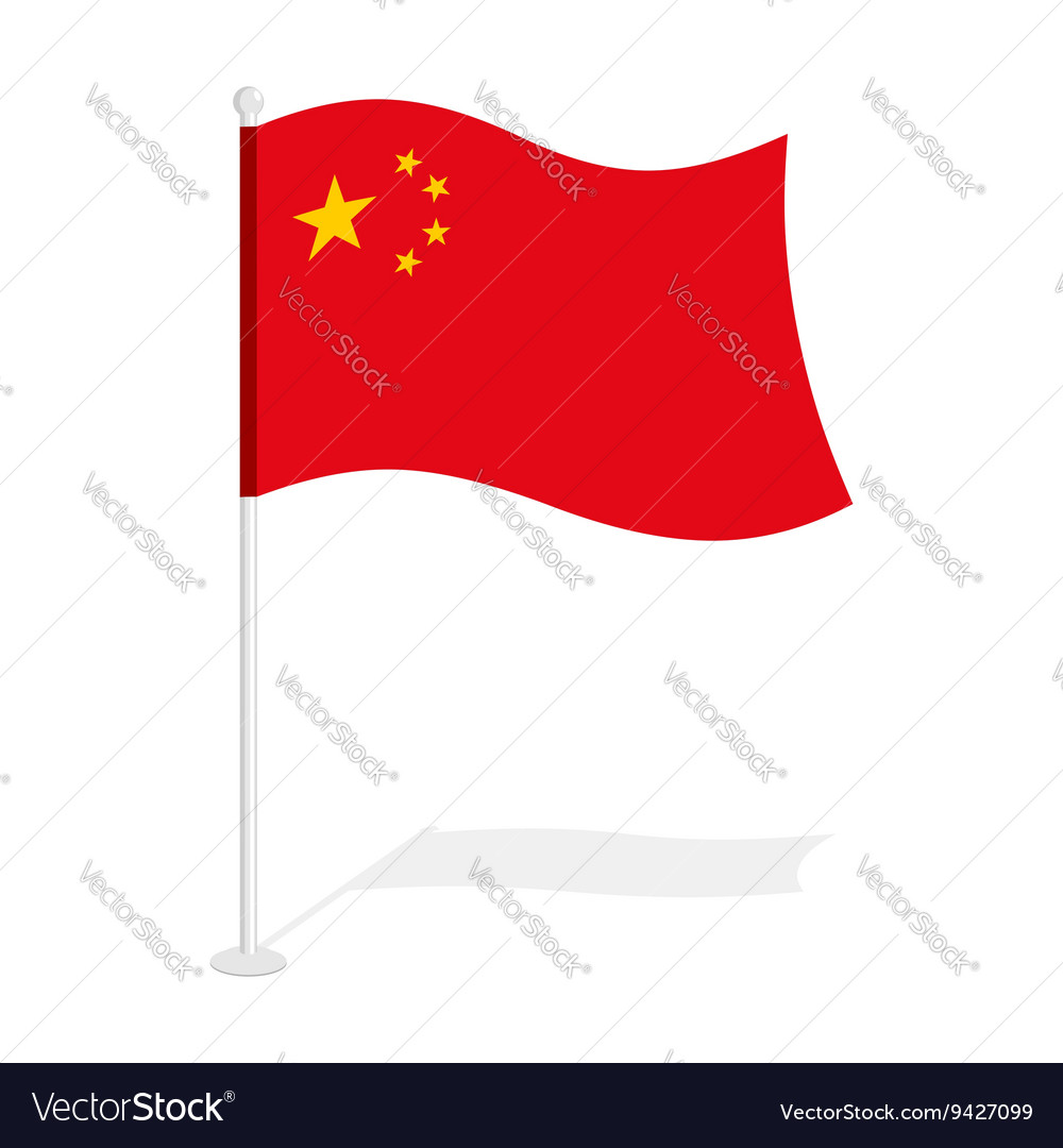China Flag Official National Symbol Of Republic Of
