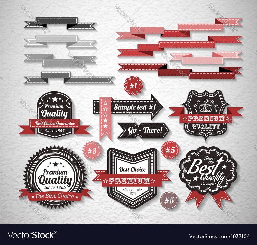 Guarantee Label vector image