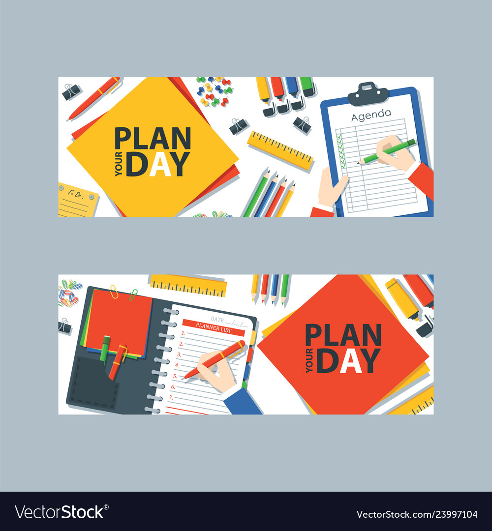 To do list or planning icon concept paper sheets