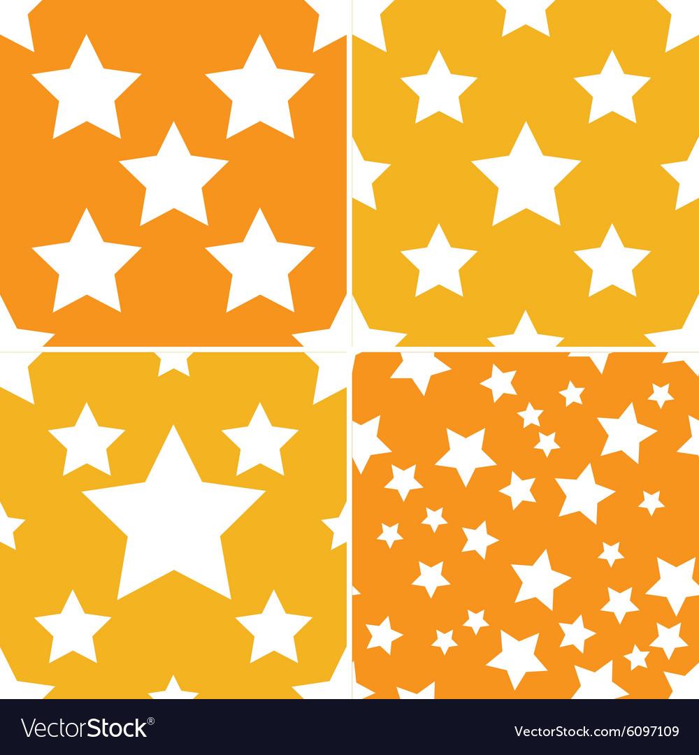 Seamless star pattern 4 style