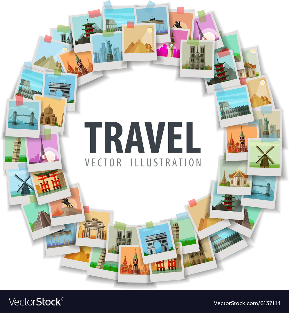 Travel vacation historic architecture of the
