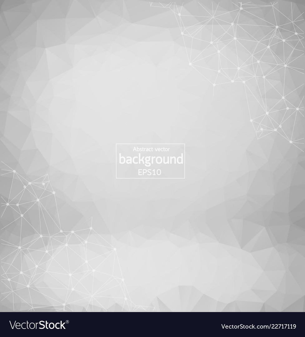 Abstract gray geometric polygonal background