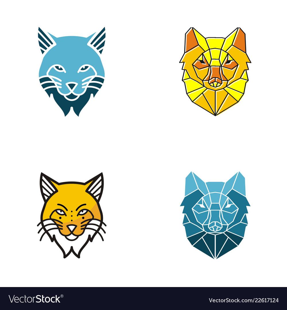 lynx logo design royalty free vector image vectorstock vectorstock