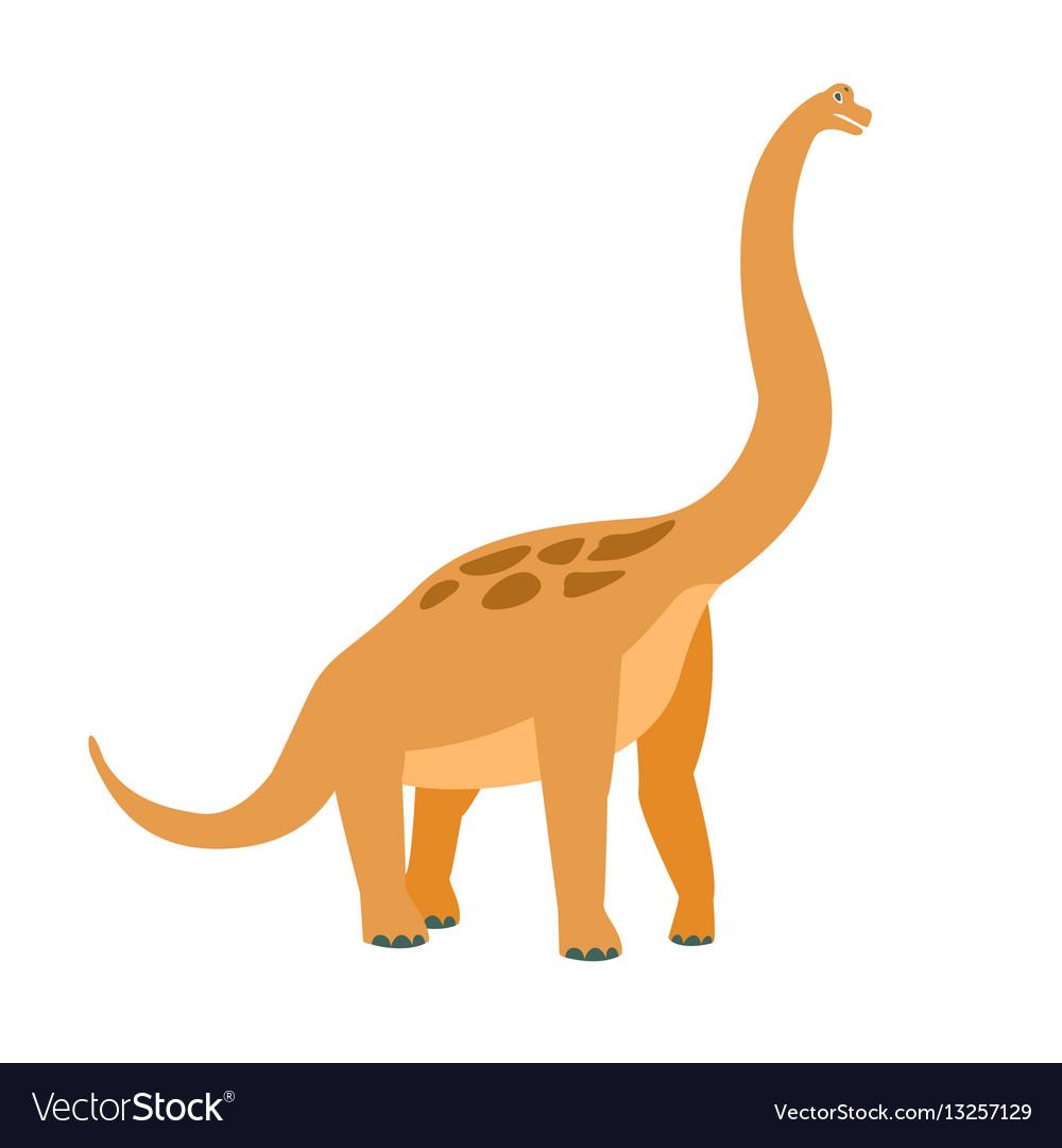 Brachiosaurus dinosaur of jurassic period
