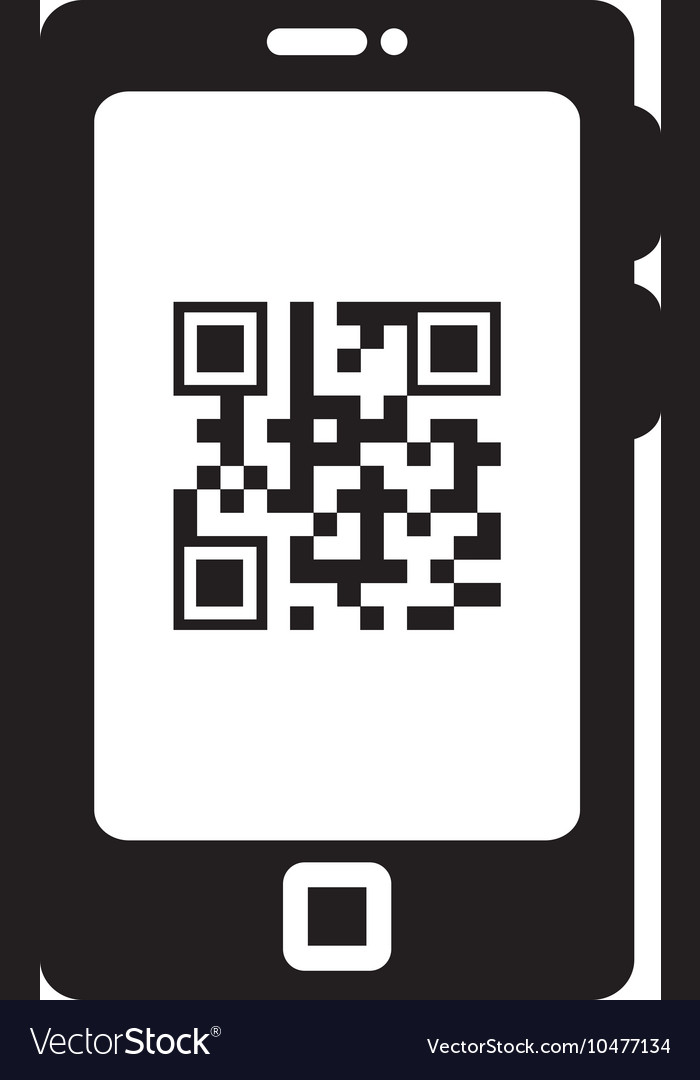 Smart phoneqr quick response code