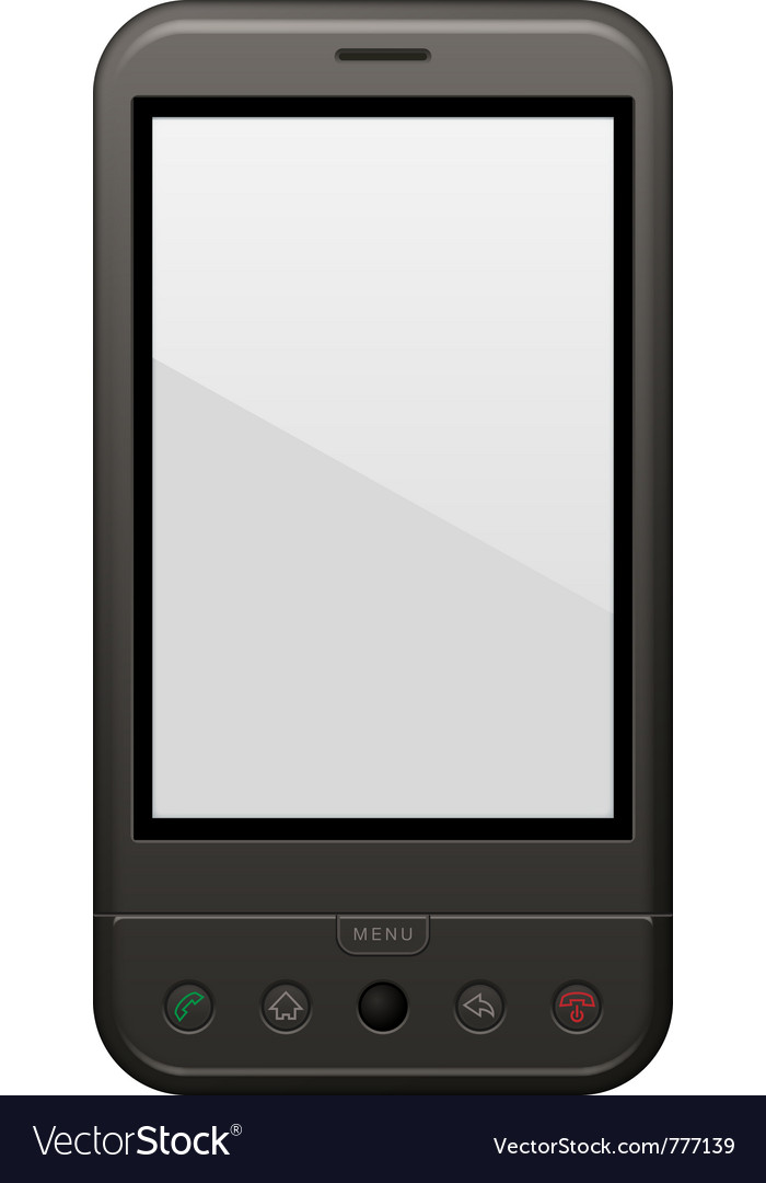 Android phone template