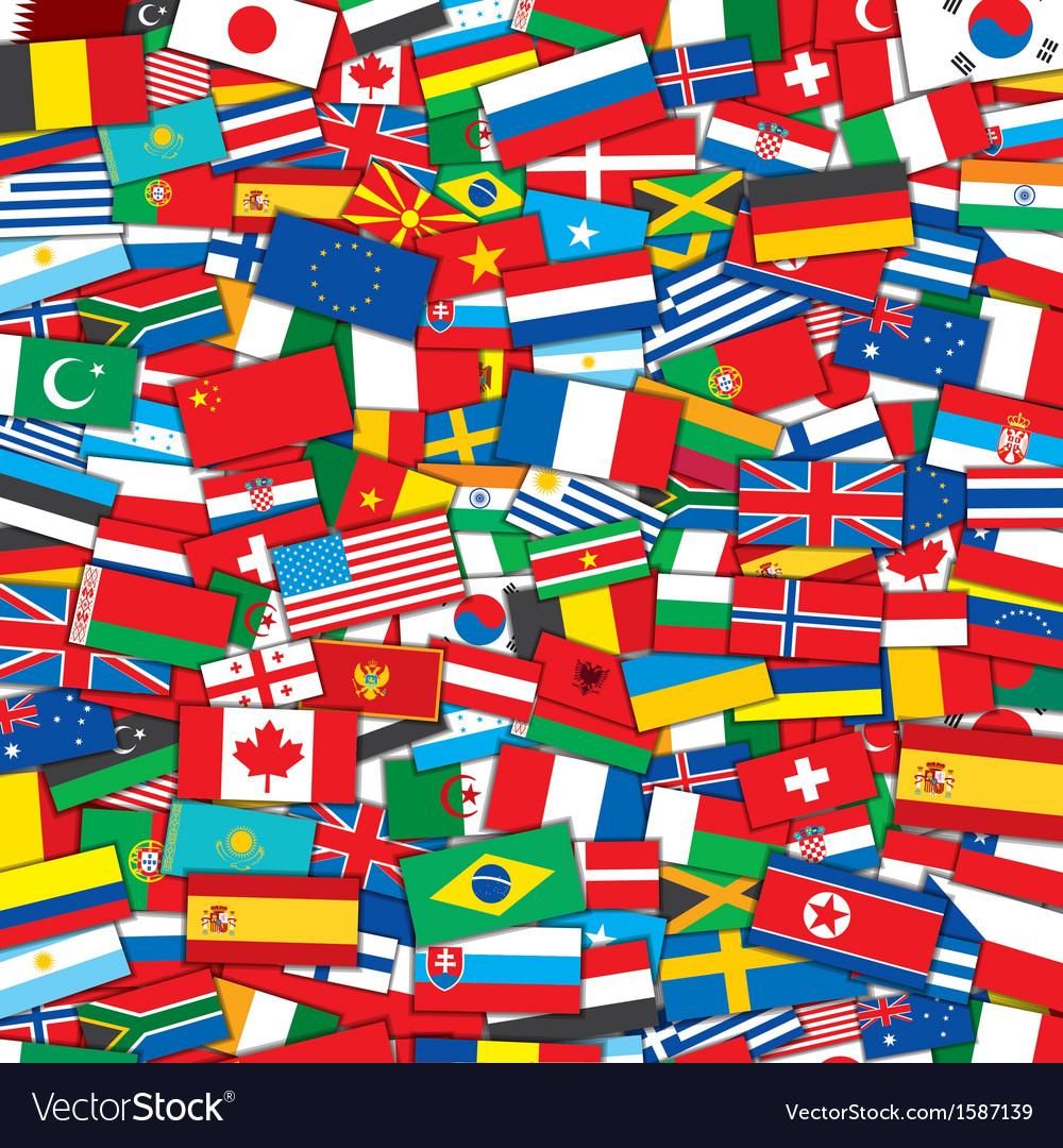 Открытка тебя, открытки с флагами разных стран
