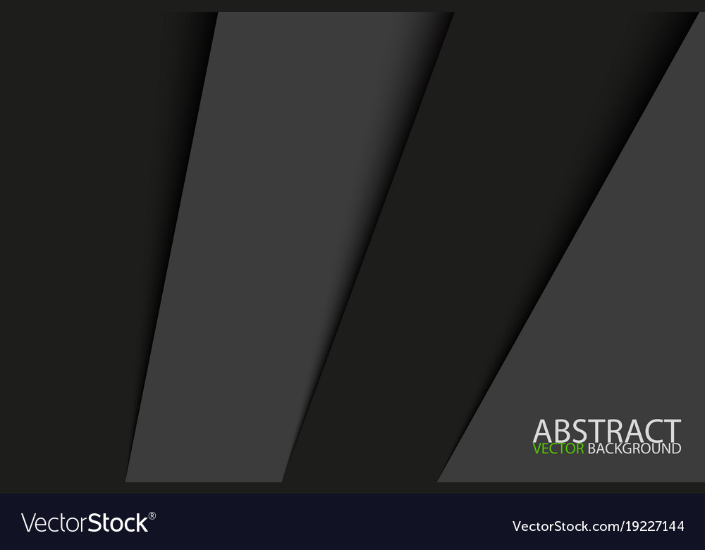 Black and grey sheets of paper stainless steel vector image