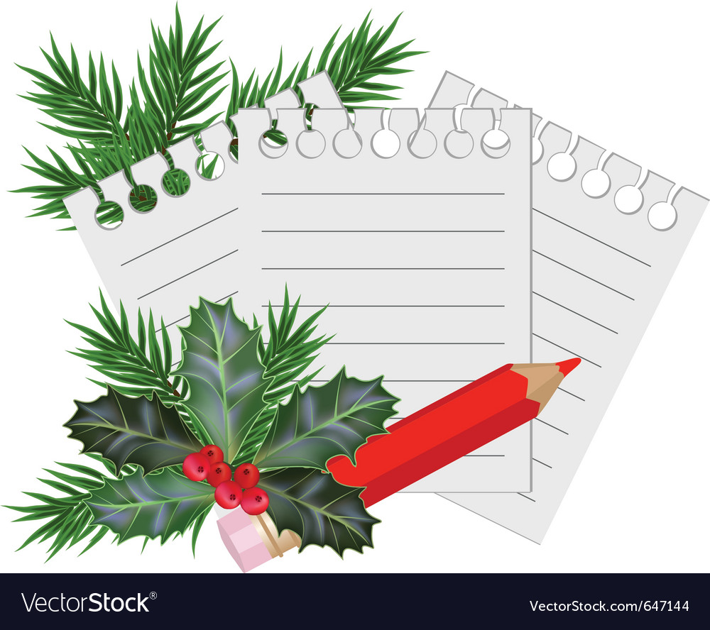 Christmas and new year card Royalty Free Vector Image