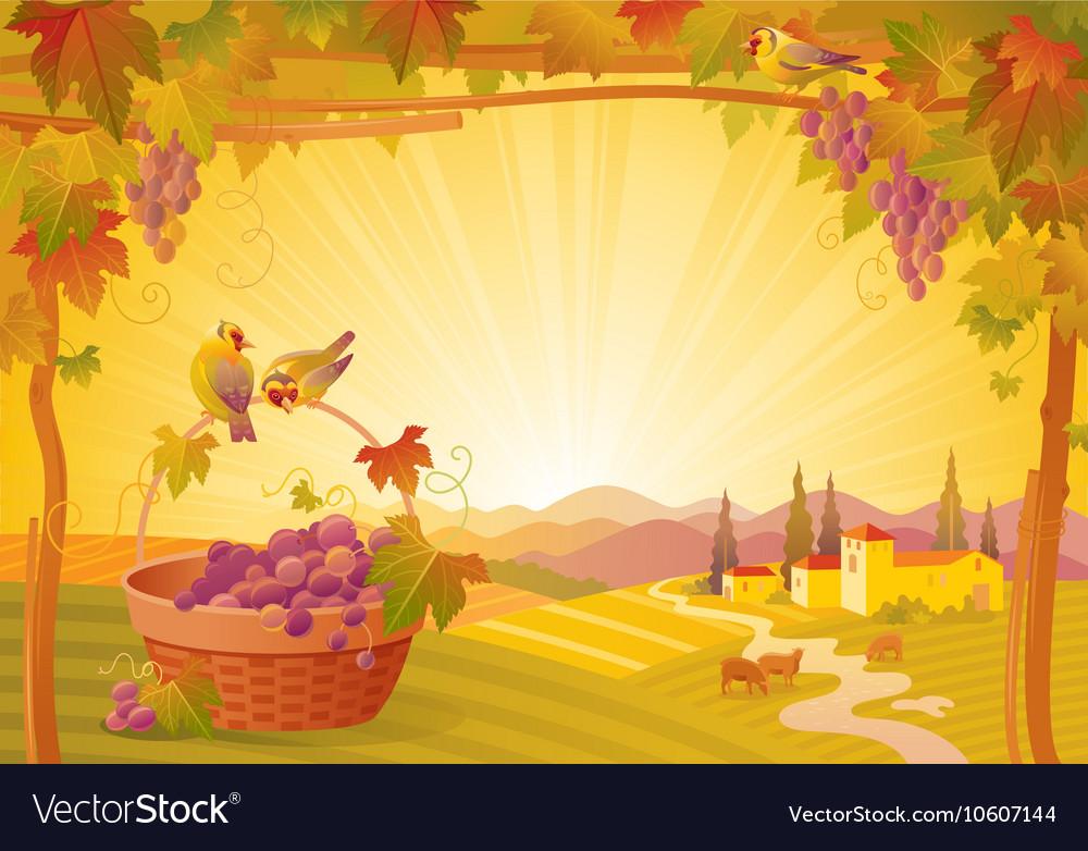 Thanksgiving beautiful autumn