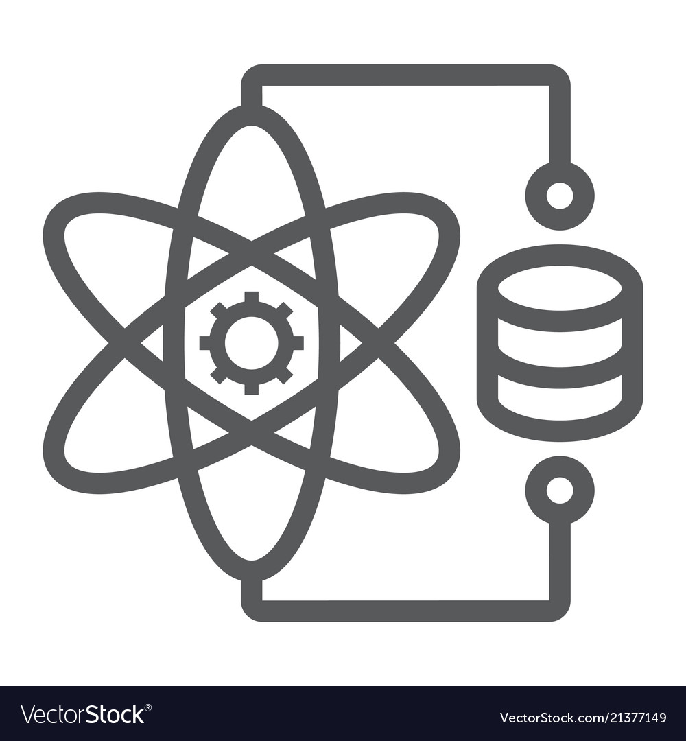 Data Science Line Icon Data And Analytics Vector Image Search icons & icon packs search icons search icon packs. vectorstock