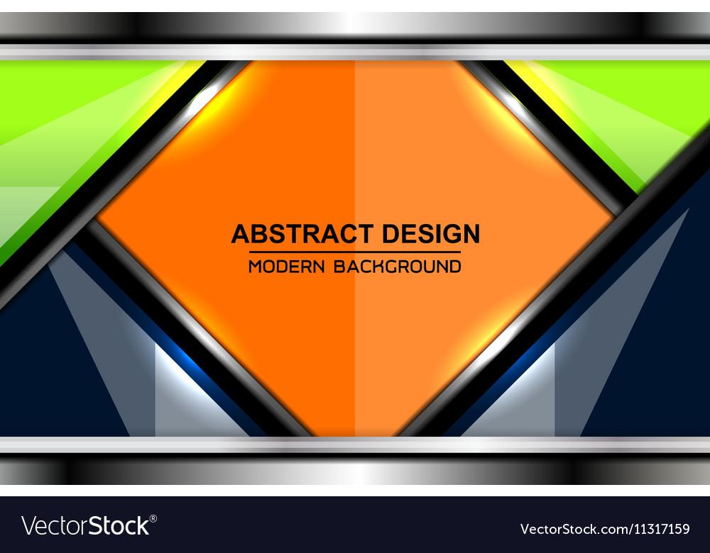 Business color modern backgrounds design Vector Image