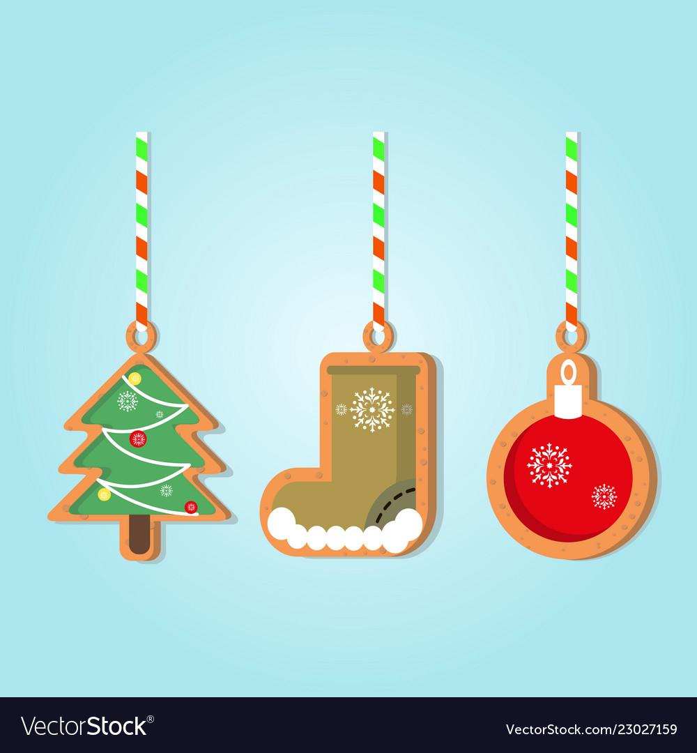 Christmas holiday gingerbread