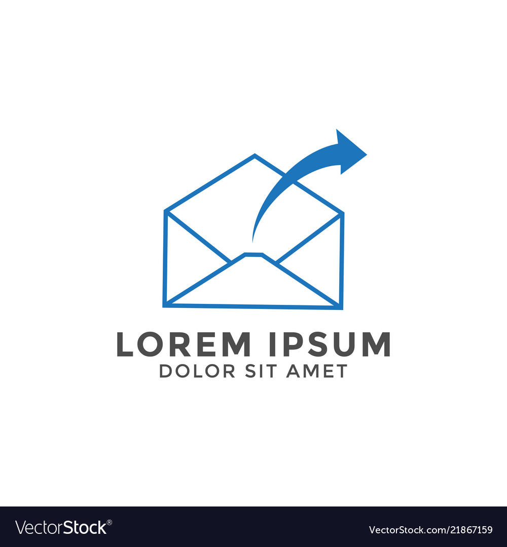 email letter logo icon design template royalty free vector